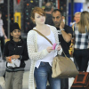 Emma Stone With An Amazing 3 Tone Fendi Chameleon Handbag
