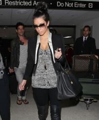 Kim Kardashian Hermes Birkin Handbag
