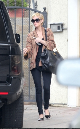 Ashlee Simpson Chanel Handbag