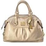 Coach Madison Patent Sabrina Large Satche bag