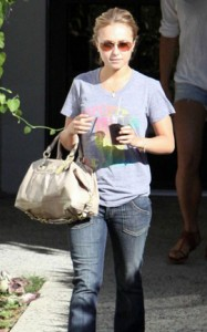 Hayden Panettiere Coach Celebrity Bag