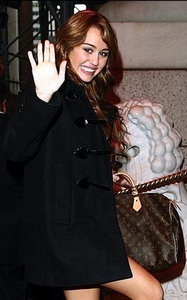 Miley Cyrus Speedy Bag