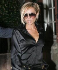 Victoria Beckham Rocking A Jimmy Choo Handbag