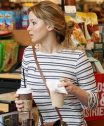 Jennifer Lawrence Ralph Lauren Saddle Bag